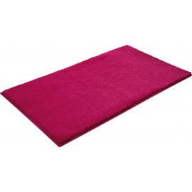 Tapis en polyester rose pour Salle de Bain Softy Esprit Home
