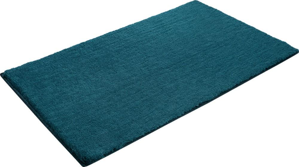 tapis en polyester turquoise pour salle de bain softy. Black Bedroom Furniture Sets. Home Design Ideas