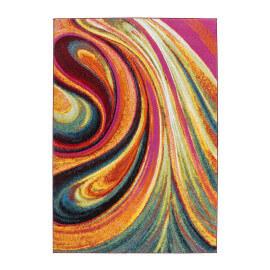 Tapis design en polypropylène multicolore Barneo