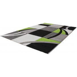 Tapis moderne vert avec effet 3D Dinard