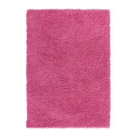 Tapis shaggy uni rose River