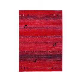 Tapis rubis ethnique vintage d'intérieur Mistik