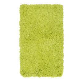 Tapis de douche à longues mèches vert Cesar