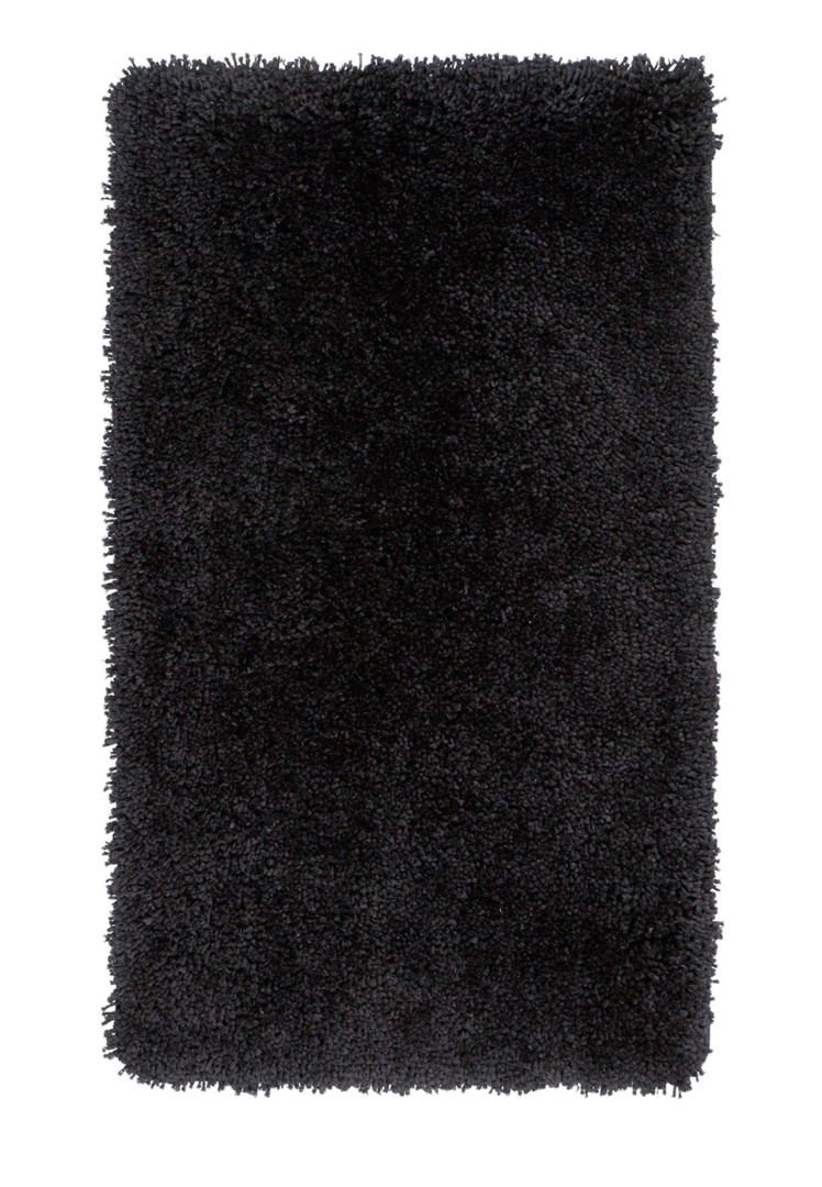 tapis de douche longues m ches noir cesar. Black Bedroom Furniture Sets. Home Design Ideas