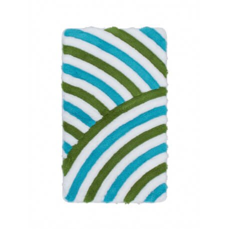 tapis de salle de bain tuft turquoise lavable en machine toundra. Black Bedroom Furniture Sets. Home Design Ideas
