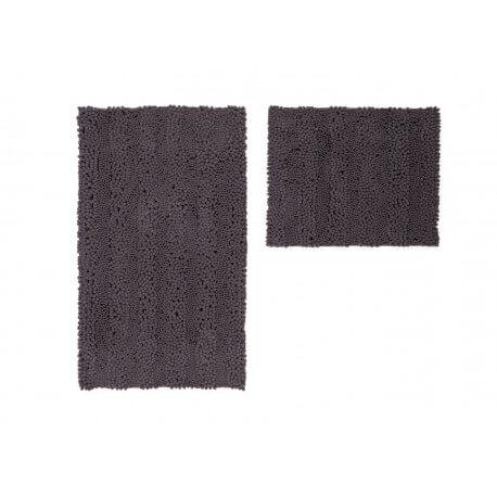 ensemble de tapis de toilette et bain caf lavable en. Black Bedroom Furniture Sets. Home Design Ideas