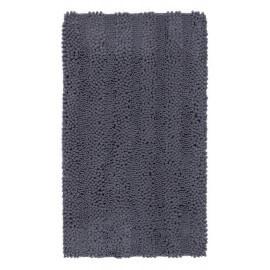 Tapis de bain graphite lavable en machine Sonora