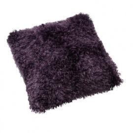 Coussin moderne fait main violet Yorgen