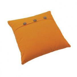 Coussin en coton orange fait main Maria