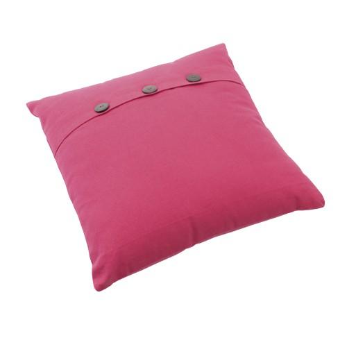 Coussin en coton rose fait main Maria