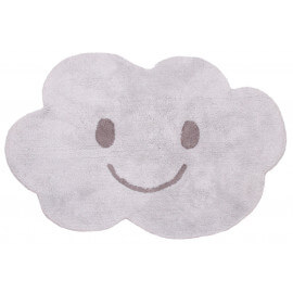Tapis enfant lavable en machine en coton Nimbus Nattiot
