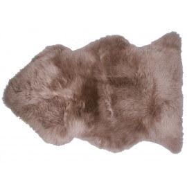 Peau de mouton taupe pour chambre enfant Douchka Nattiot