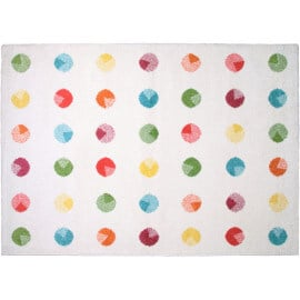 Tapis Nattiot en polypropylène multicolore Noida Nattiot