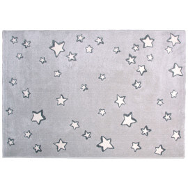 Tapis rectangle pour enfant gris Sweet Dream Nattiot