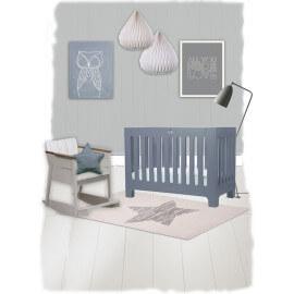 Tapis pour chambre de bébé rectangle écru Lucero Nattiot