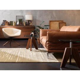 Tapis en laine style contemporain beige Line Up Arte Espina