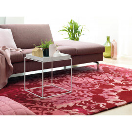 Tapis en laine baroque de salon rouge Ornament Arte Espina