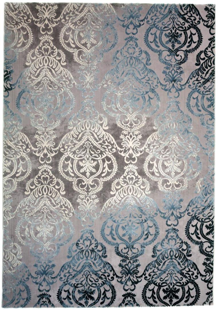 Tapis baroque en polyester d'intérieur Nordic