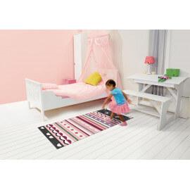 Descente de lit pour chambre de fille Moustache Kids Arte Espina