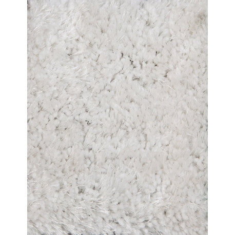 tapis en polyester uni doux blanc shaggy rivoli. Black Bedroom Furniture Sets. Home Design Ideas
