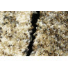 Tapis effet naturel beige contemporain Ancolie