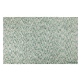 Tapis moderne vert émeraude Mix Collection Daksh par Lorena Canals