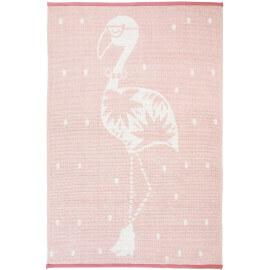 Tapis rose pour chambre de bébé en coton Ella Nattiot
