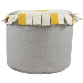 Pouf en tissu 100% coton fait main Baba Nattiot
