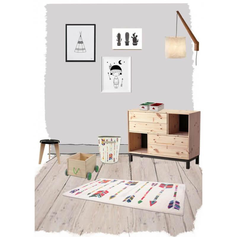 tapis laine chambre. Black Bedroom Furniture Sets. Home Design Ideas