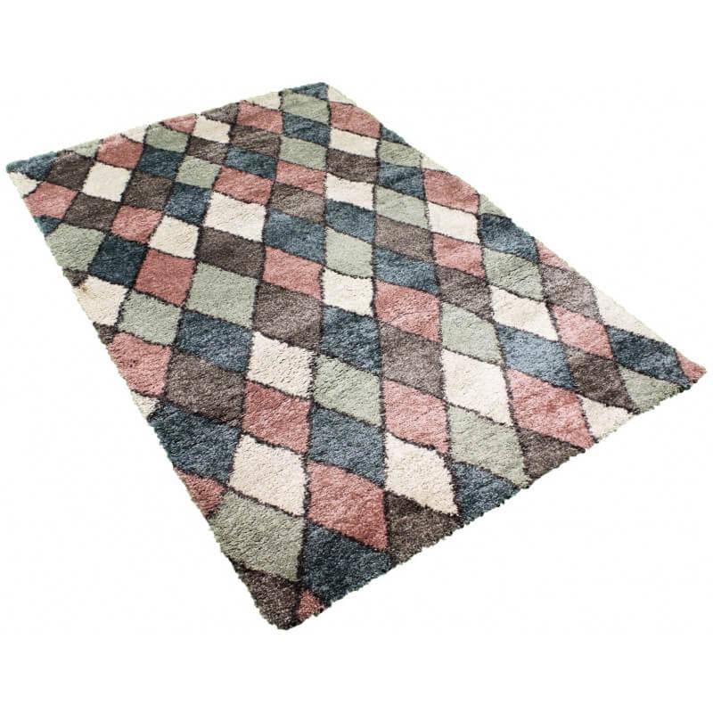 tapis shaggy pour salon scandinave rose volto. Black Bedroom Furniture Sets. Home Design Ideas