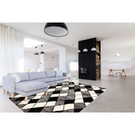 tapis scandinave les tapis tendances en mati res de d coration. Black Bedroom Furniture Sets. Home Design Ideas
