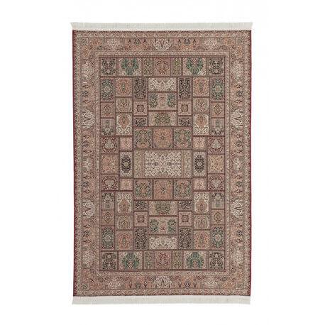 tapis oriental avec franges plat pour int rieur rouge cameo. Black Bedroom Furniture Sets. Home Design Ideas