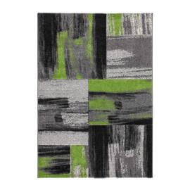 Tapis vintage effet 3D et rayé pour intérieur vert Switch