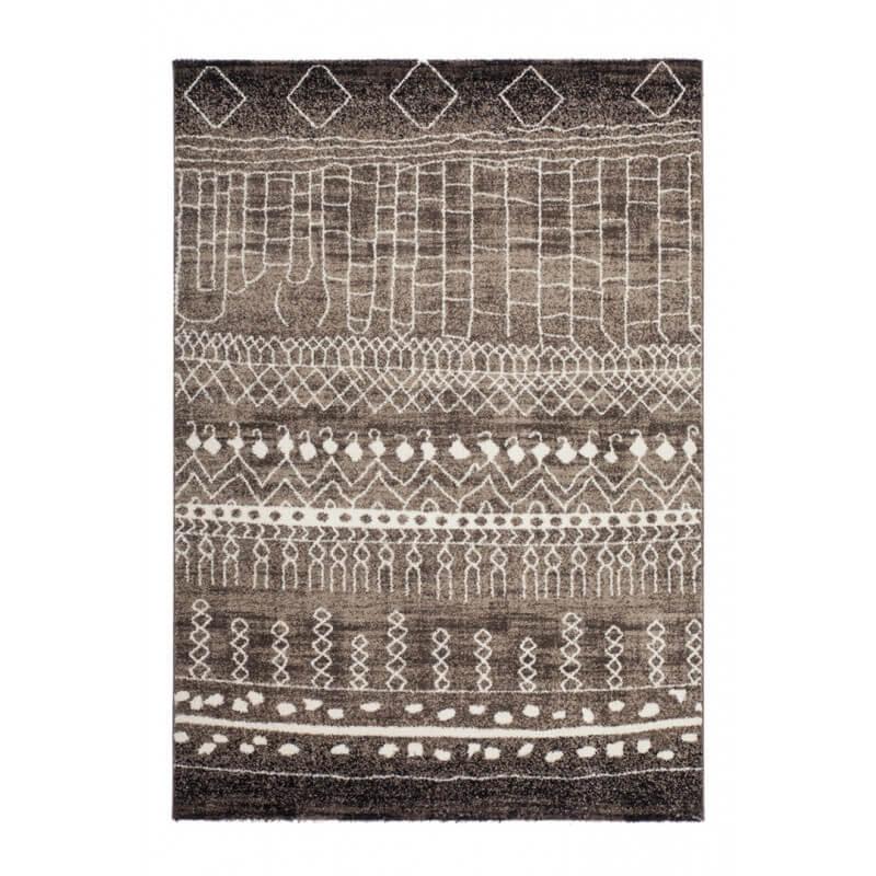 Tapis intérieur style ethnique marron Salvador
