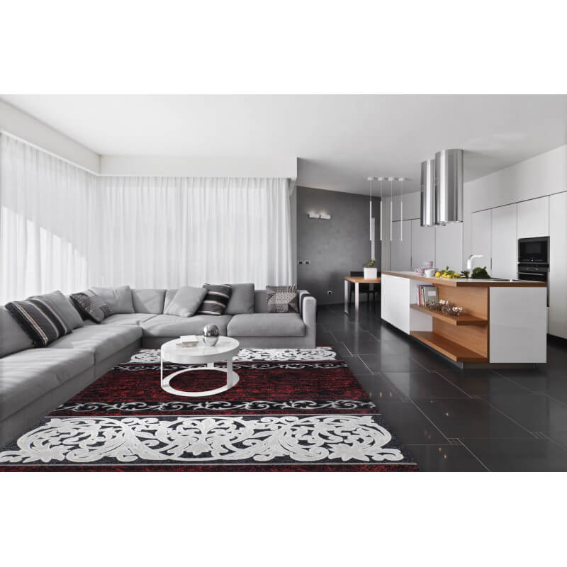 tapis rouge style baroque effet 3d patch. Black Bedroom Furniture Sets. Home Design Ideas