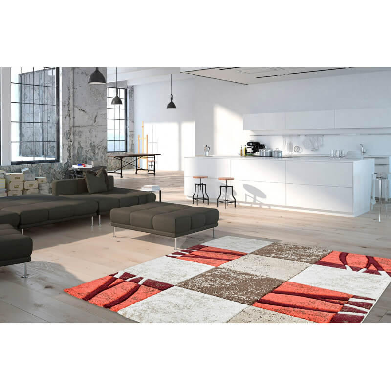 tapis couleur corail tendance d 39 int rieur zanzibar. Black Bedroom Furniture Sets. Home Design Ideas