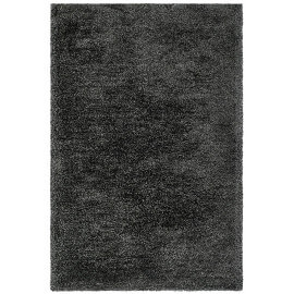 Tapis en polyester doux shaggy gris Wow