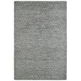 Tapis scandinave en laine géométrique à poils court Mandoor