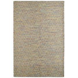 Tapis scandinave en laine géométrique à poils court multicolore Mandoor