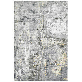Tapis sable vintage en viscose rectangle Studio