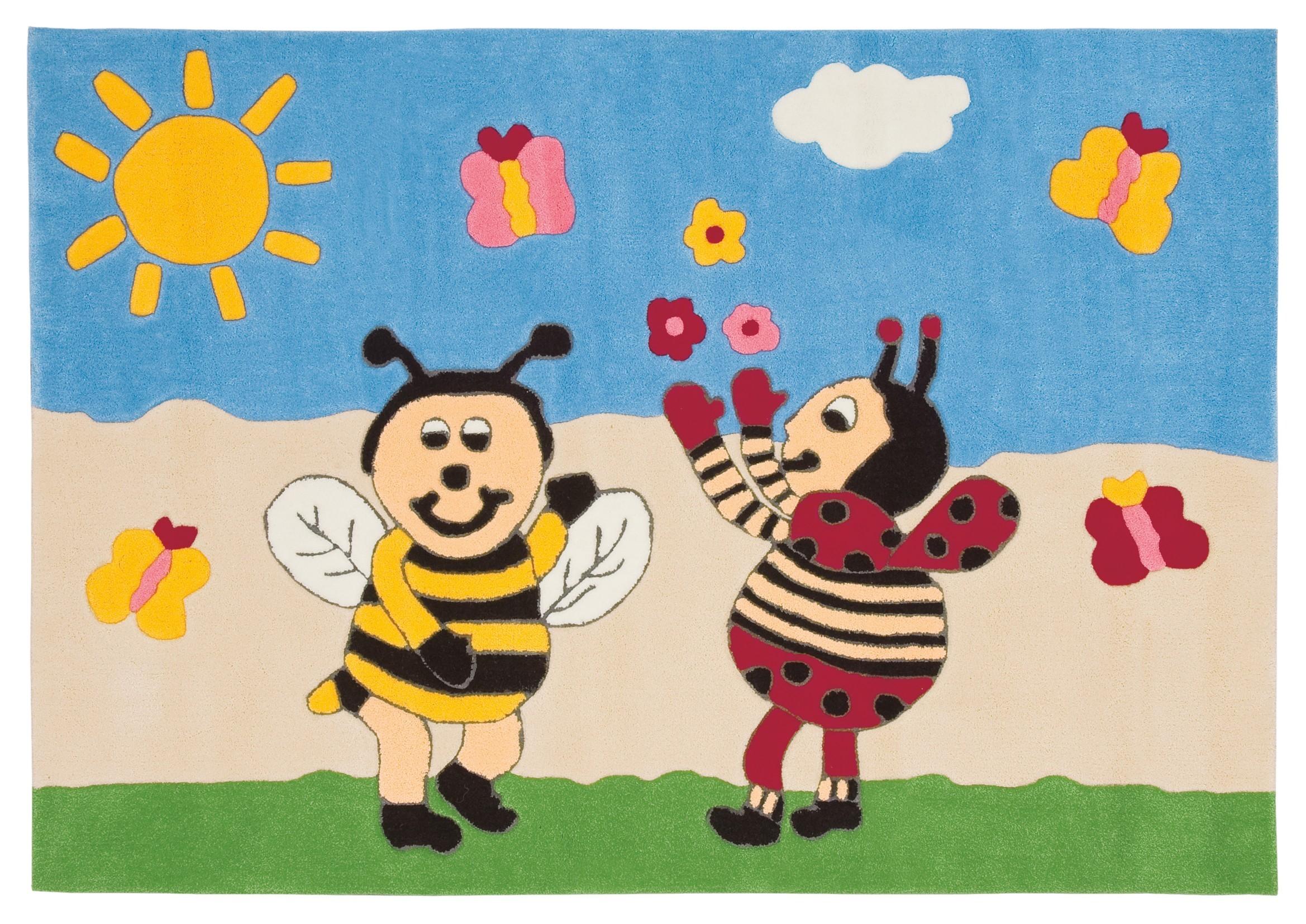 Tapis enfant Bee par Arte Espina