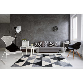 tapis pas cher promotion sur les tapis tendances toute l 39 ann e. Black Bedroom Furniture Sets. Home Design Ideas