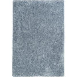 Tapis uni dégradé bleu foncé en polyester Relaxx Esprit Home