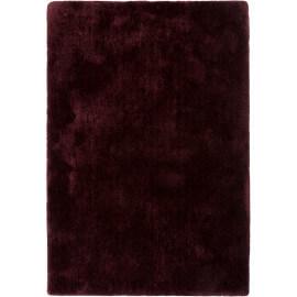 Tapis uni dégradé bordeaux en polyester Relaxx Esprit Home