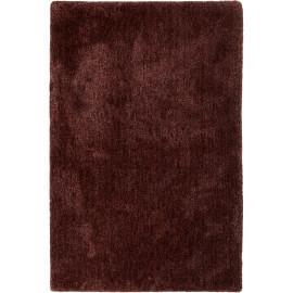 Tapis uni dégradé bourgogne en polyester Relaxx Esprit Home