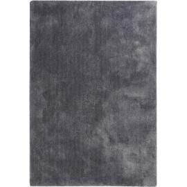 Tapis uni dégradé gris givré en polyester Relaxx Esprit Home
