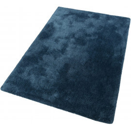 Tapis uni dégradé turquoise en polyester Relaxx Esprit Home