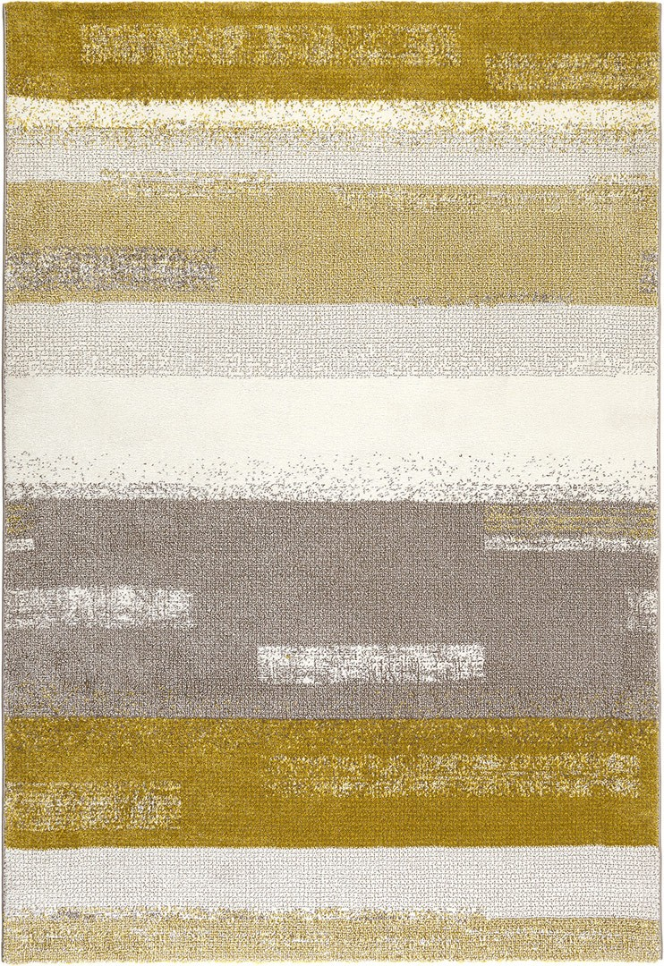 tapis moderne ray jaune moutarde dreaming esprit home - Tapis Moderne