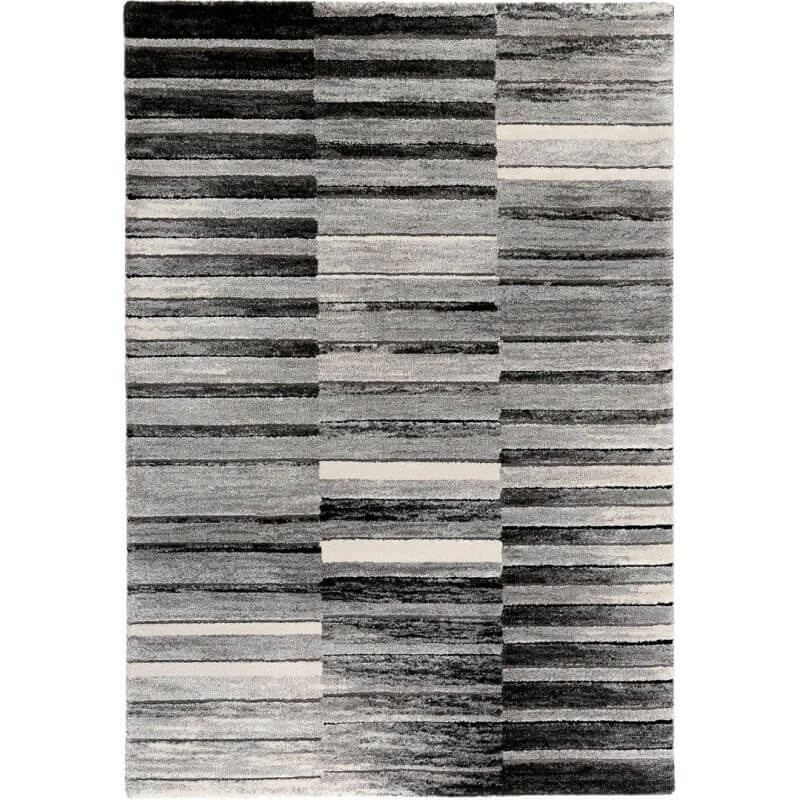 tapis design noir et blanc ray wild stripes esprit home. Black Bedroom Furniture Sets. Home Design Ideas