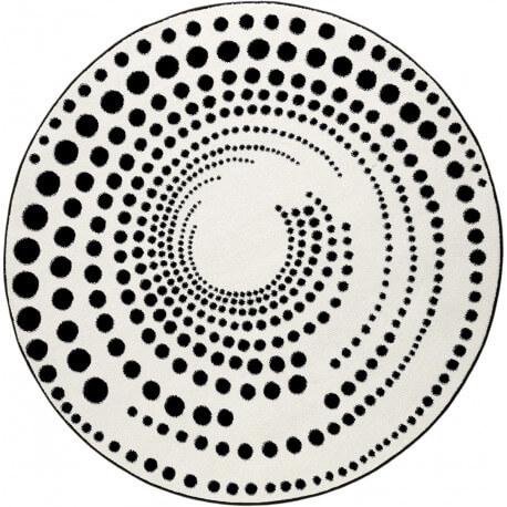Tapis rond design géométrique Eddy Esprit Home